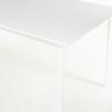 Bord, vit laminat & stål - 280 x 90 cm