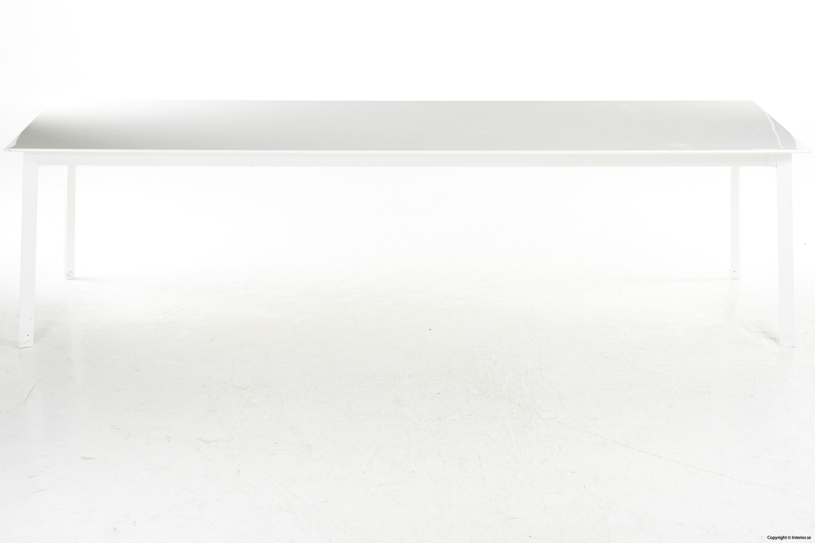 Konferensbord, vit laminat & stål - 280 x 90 cm conference table 5