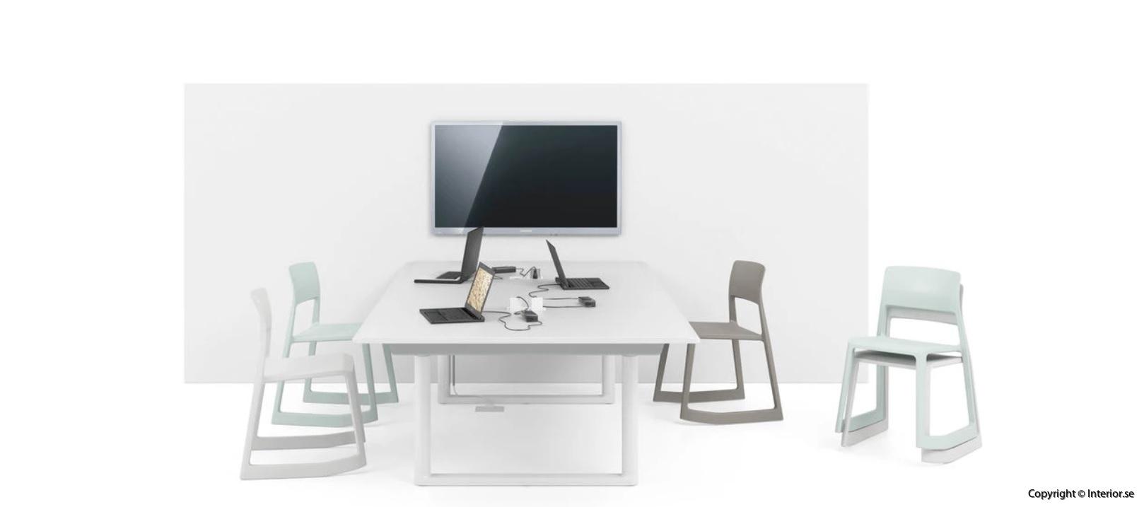 Höj- & sänkbart konferensbord, Vitra Tyde Meeting Table 240 cm - Ronan Erwan Bouroullec  7