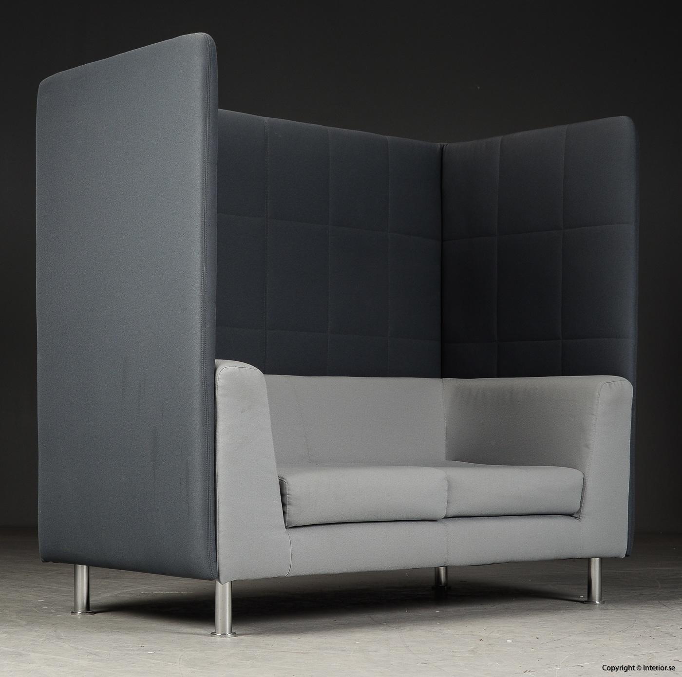 Soffa med högt ryggstöd, Holmris Free Air 2 High Straight modern design 7