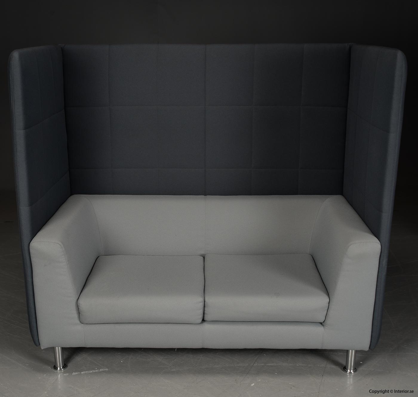 Soffa med högt ryggstöd, Holmris Free Air 2 High Straight modern design 6