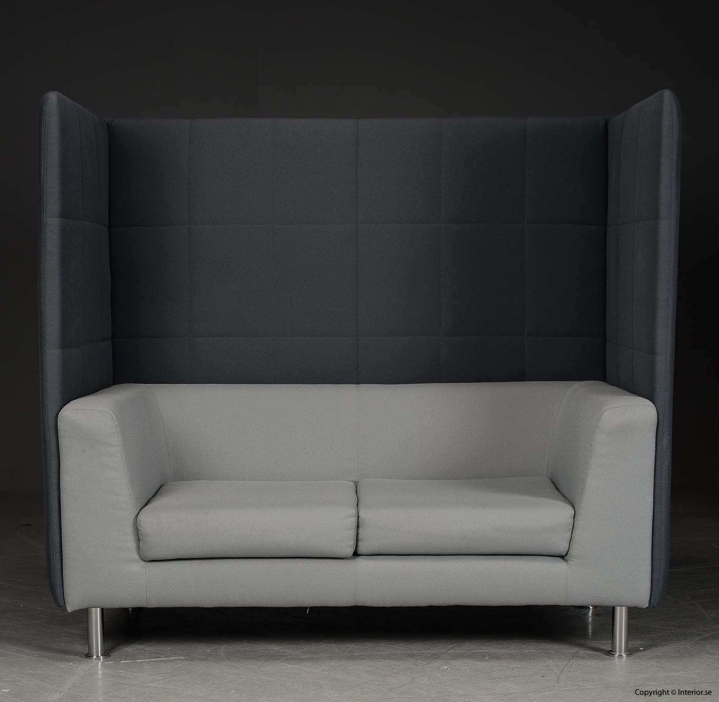 Soffa med högt ryggstöd, Holmris Free Air 2 High Straight modern design 5
