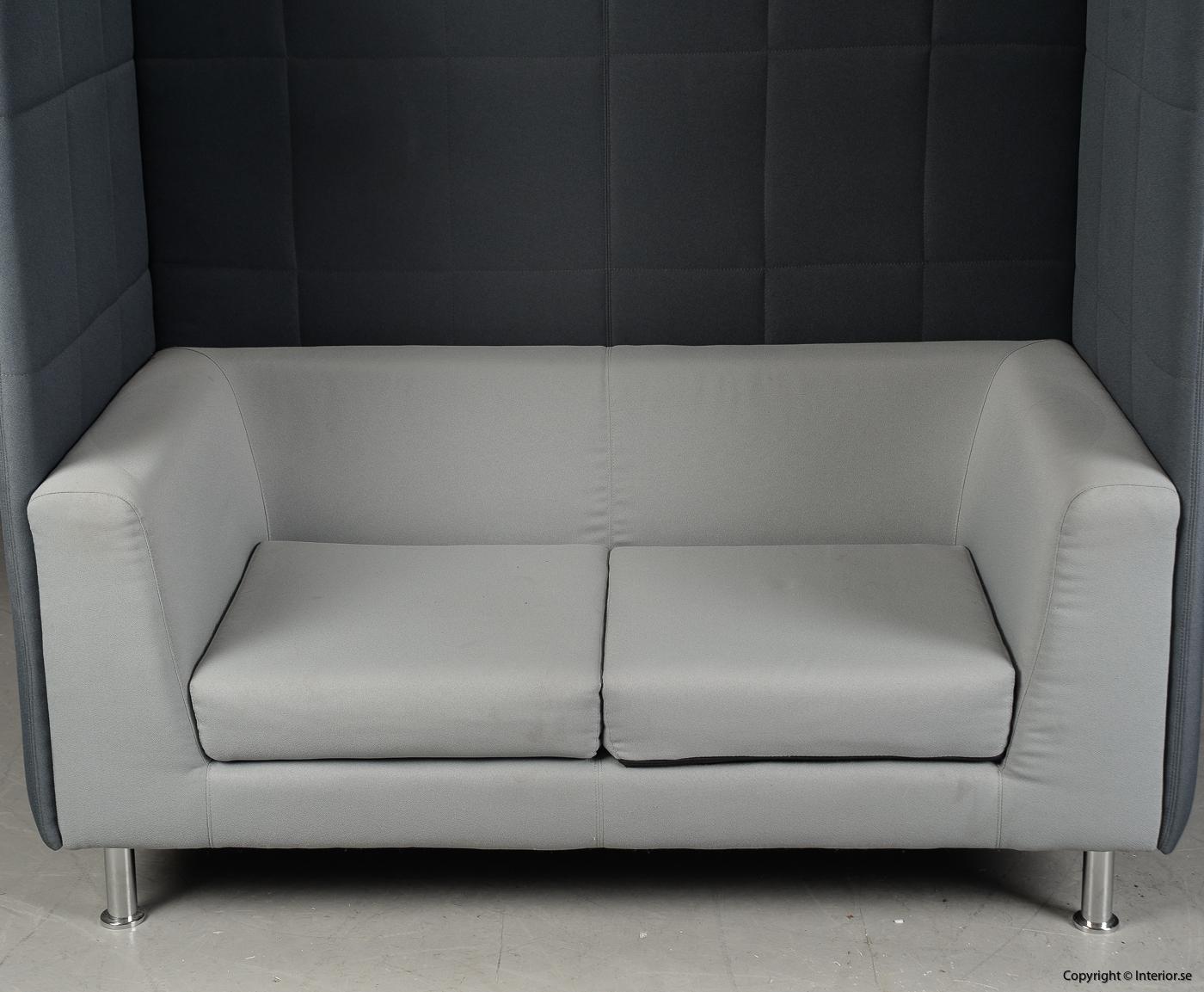 Soffa med högt ryggstöd, Holmris Free Air 2 High Straight modern design 4
