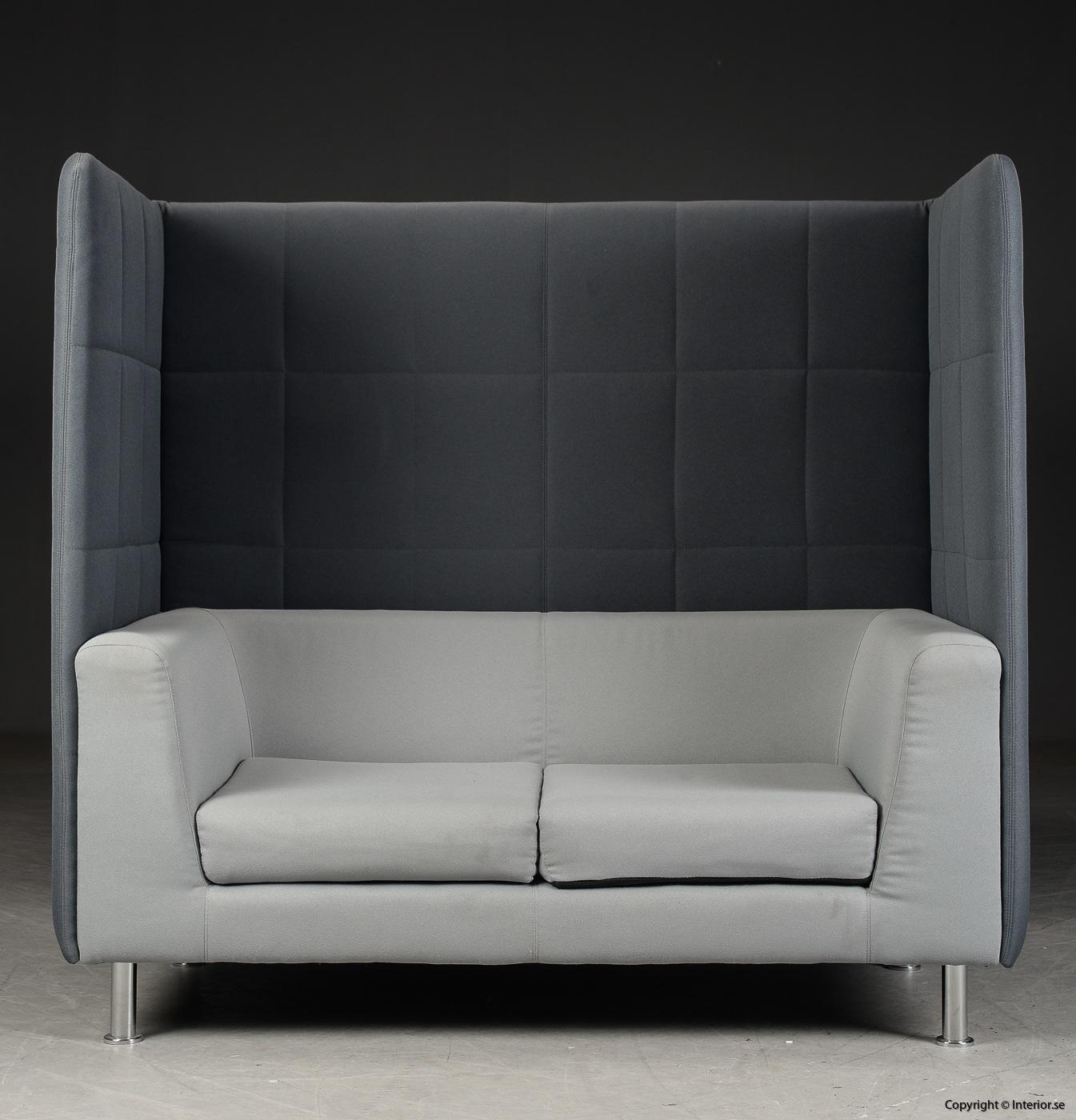 Soffa med högt ryggstöd, Holmris Free Air 2 High Straight modern design 3