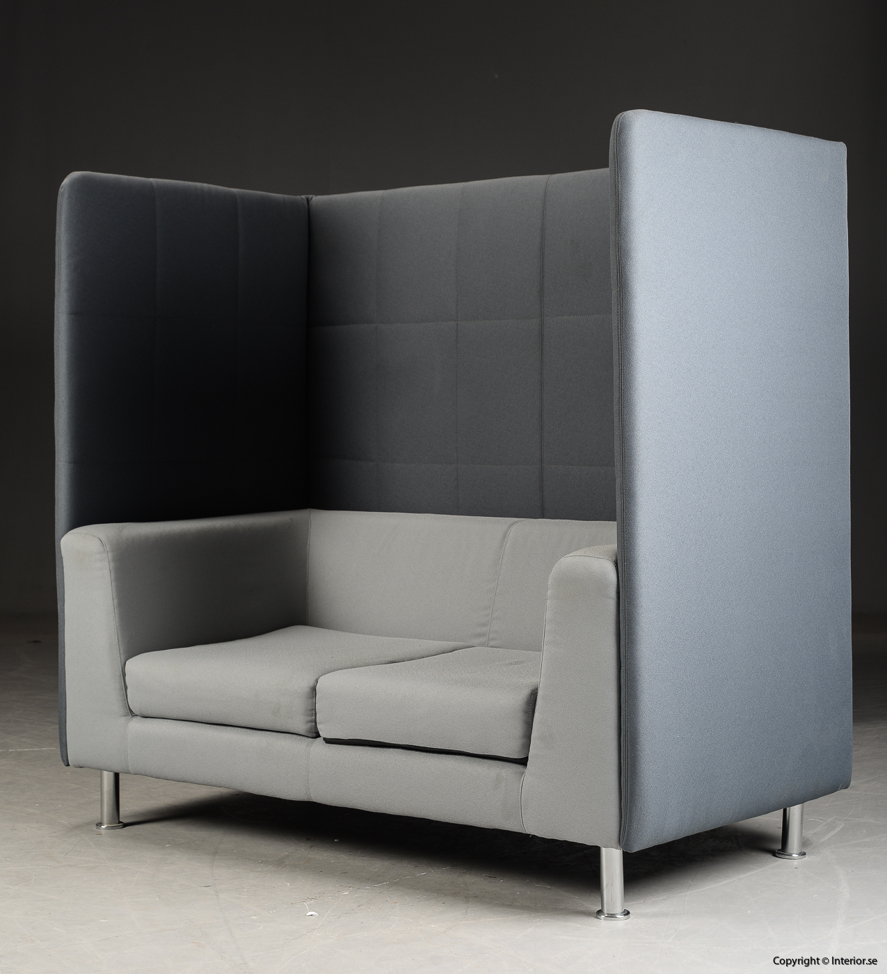 Soffa med högt ryggstöd, Holmris Free Air 2 High Straight modern design 2