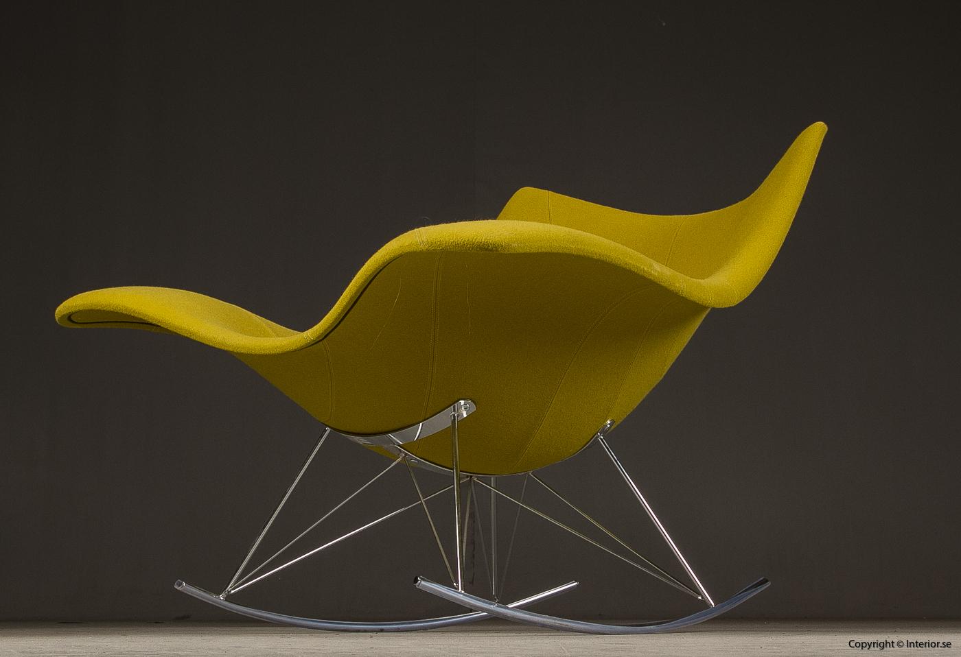 Gungstol fåtölj rocking chair, Fredericia Furniture Stingray - Klädd 2