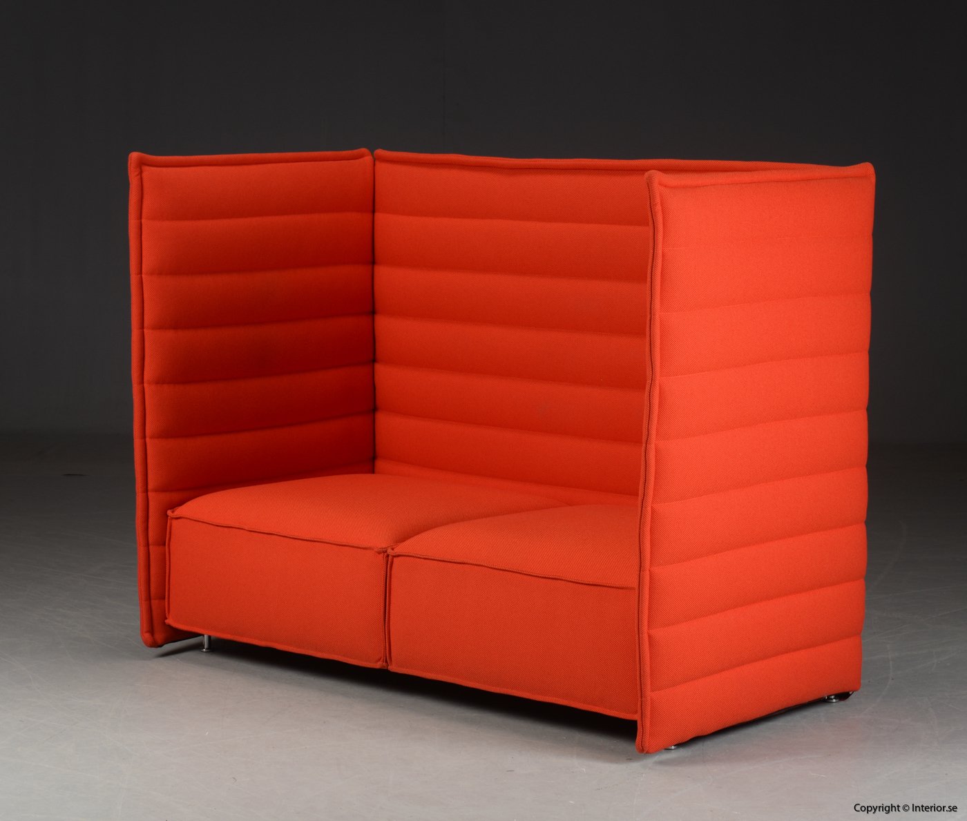 Soffa sofa med hög rygg, Vitra Alcove 2-sits 2 seater - Erwan & Ronan Bouroullec