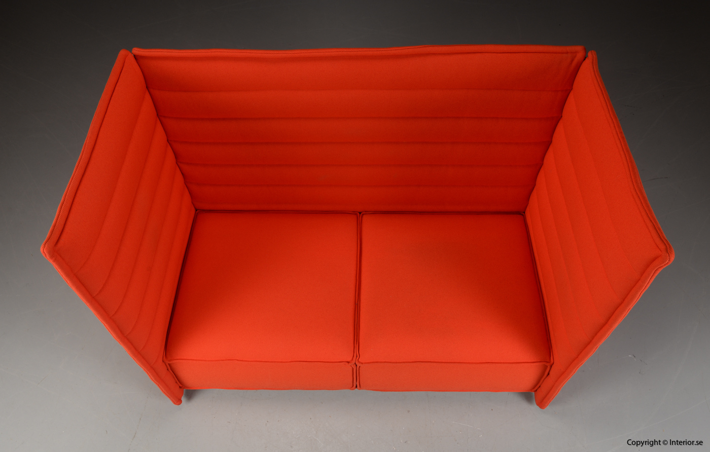 Soffa sofa med hög rygg, Vitra Alcove 2-sits 2 seater - Erwan & Ronan Bouroullec 3
