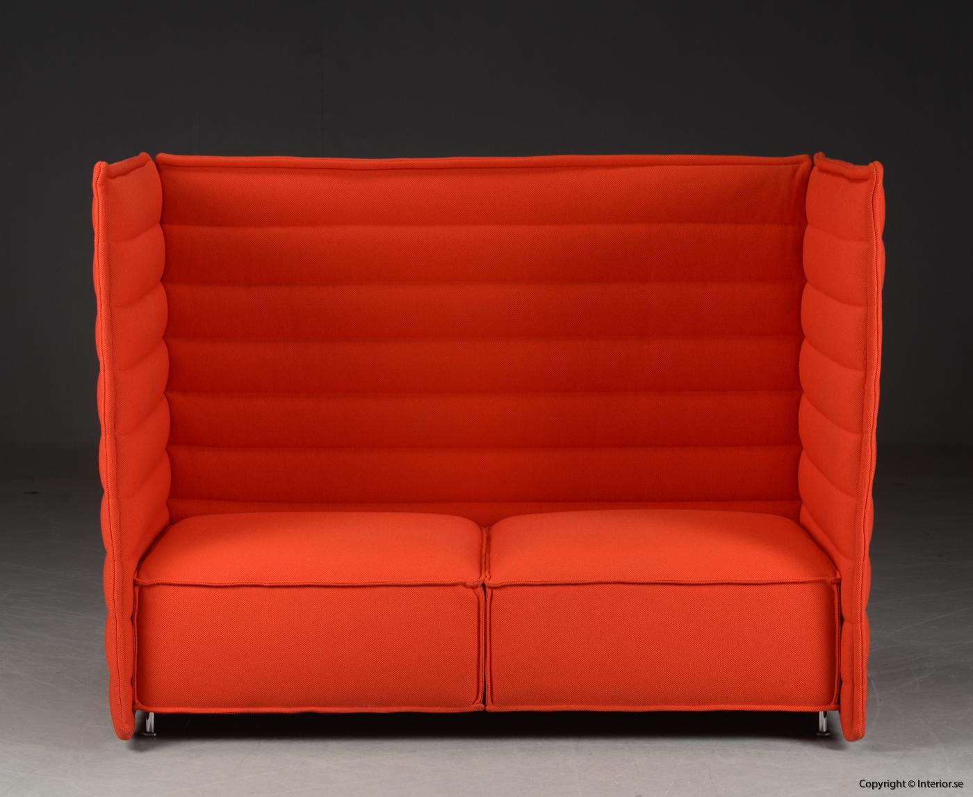 Soffa sofa med hög rygg, Vitra Alcove 2-sits 2 seater - Erwan & Ronan Bouroullec 2