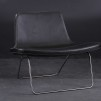 Fåtölj, HAY Ray Lounge Chair - Skinn