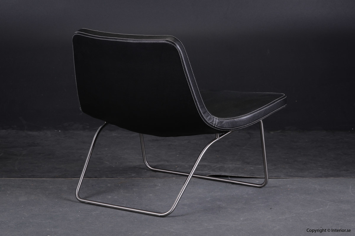 Fåtölj Sessel Armchair HAY Ray Lounge Chair - Läder Leather Leder - Jakob Wagner 5