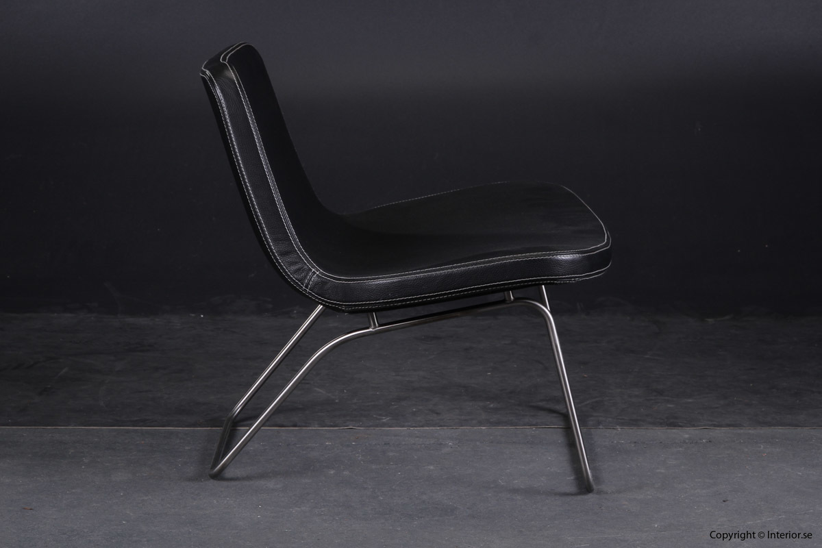 Fåtölj Sessel Armchair HAY Ray Lounge Chair - Läder Leather Leder - Jakob Wagner 4