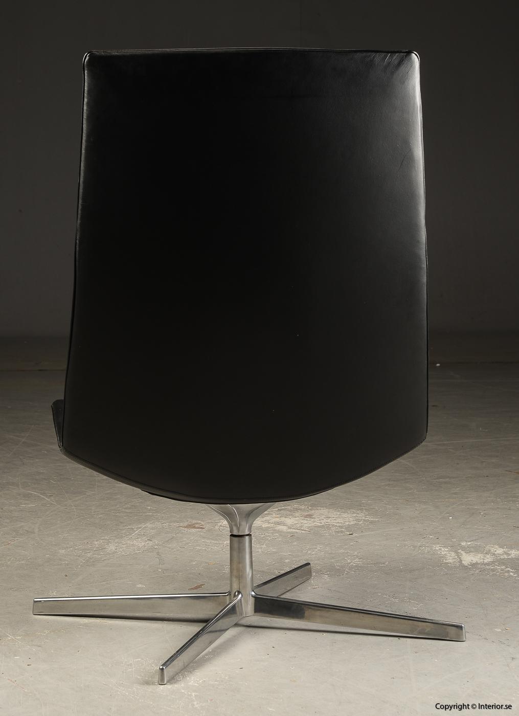 Loungefåtölj lounge chair Arper Catifa 70 läder - Lievore, Altherr, Molina  5