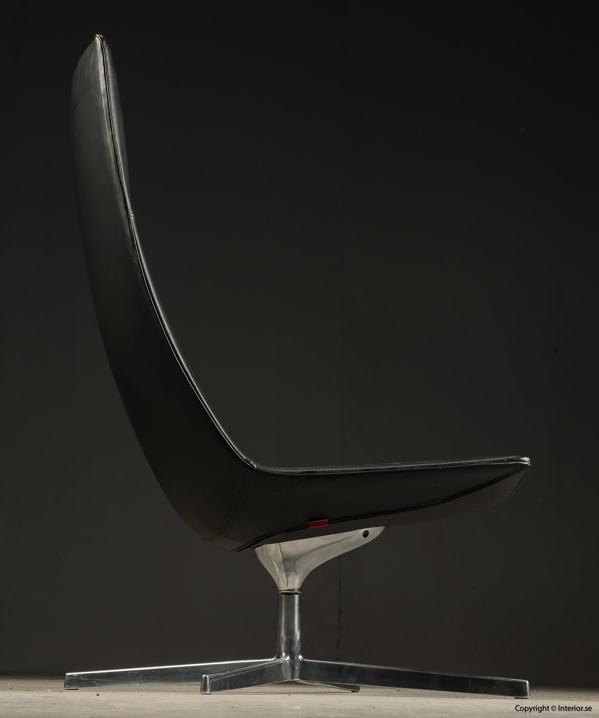 Loungefåtölj lounge chair Arper Catifa 70 läder - Lievore, Altherr, Molina  4