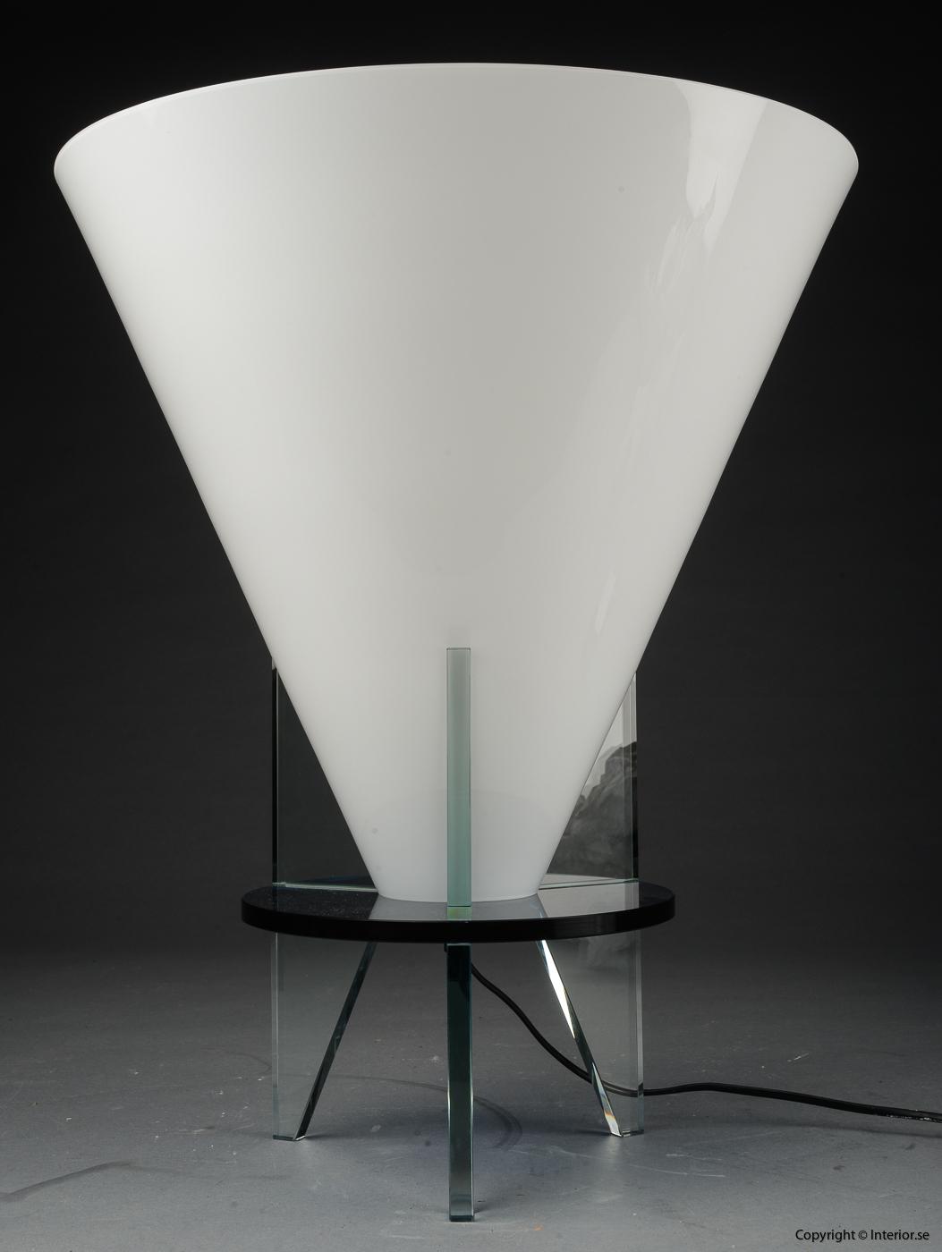 Bordslampa table lamp tischlampen Fontana Arte Otero - Design Rodolfo Dordoni
