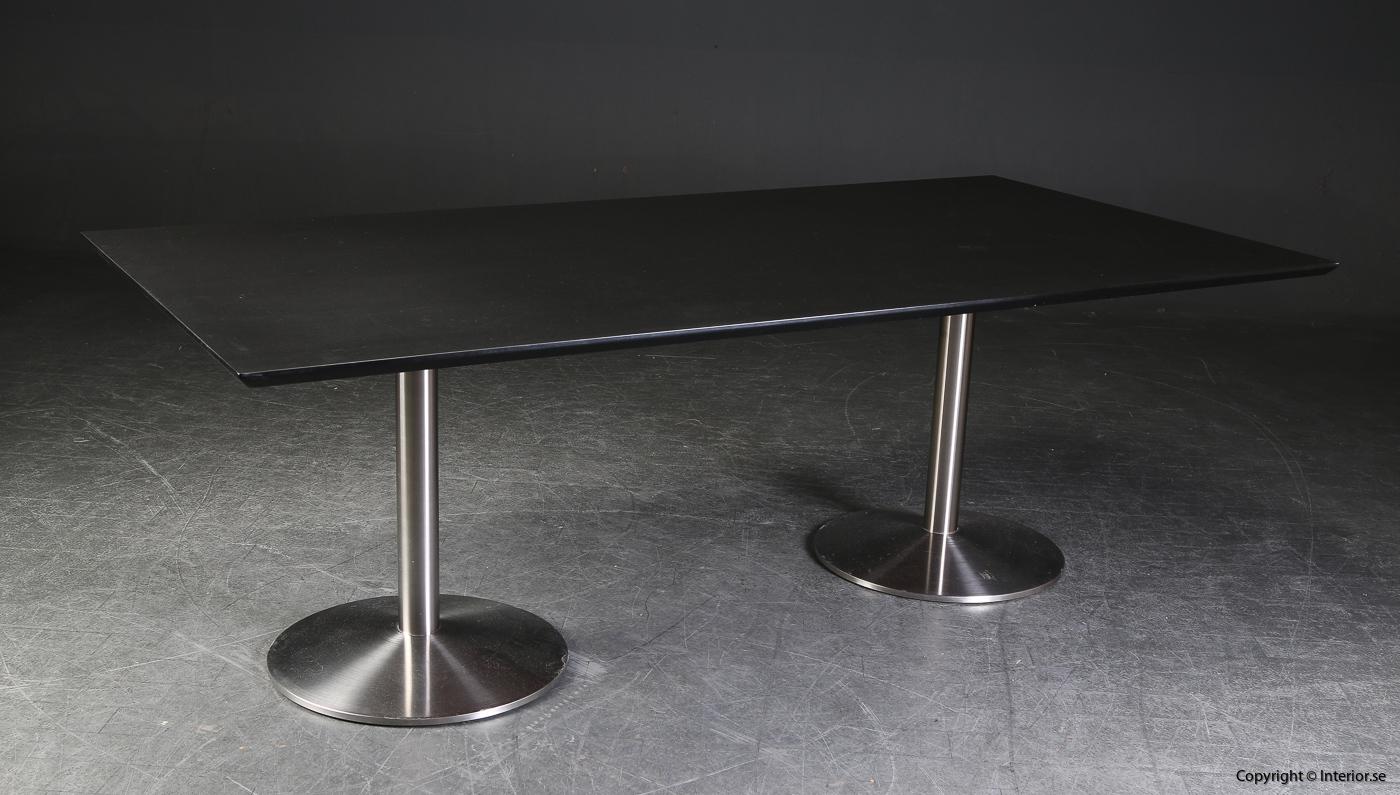 Konferensbord conference table, Svart linoleum - 220 x 110 cm