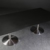 Bord, Svart linoleum - 220 x 110 cm