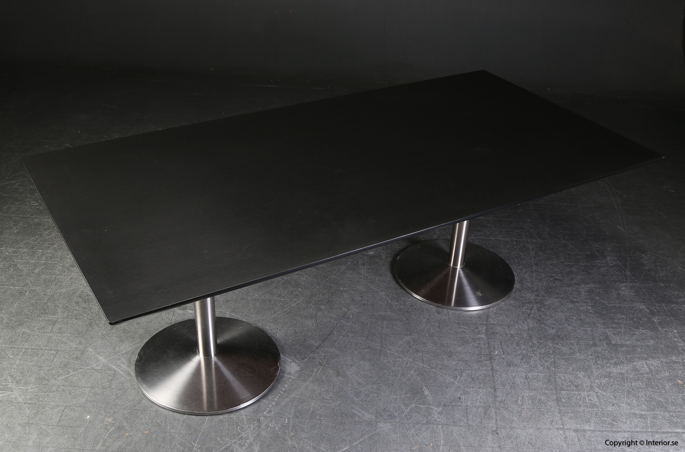 Konferensbord conference table, Svart linoleum - 220 x 110 cm 2