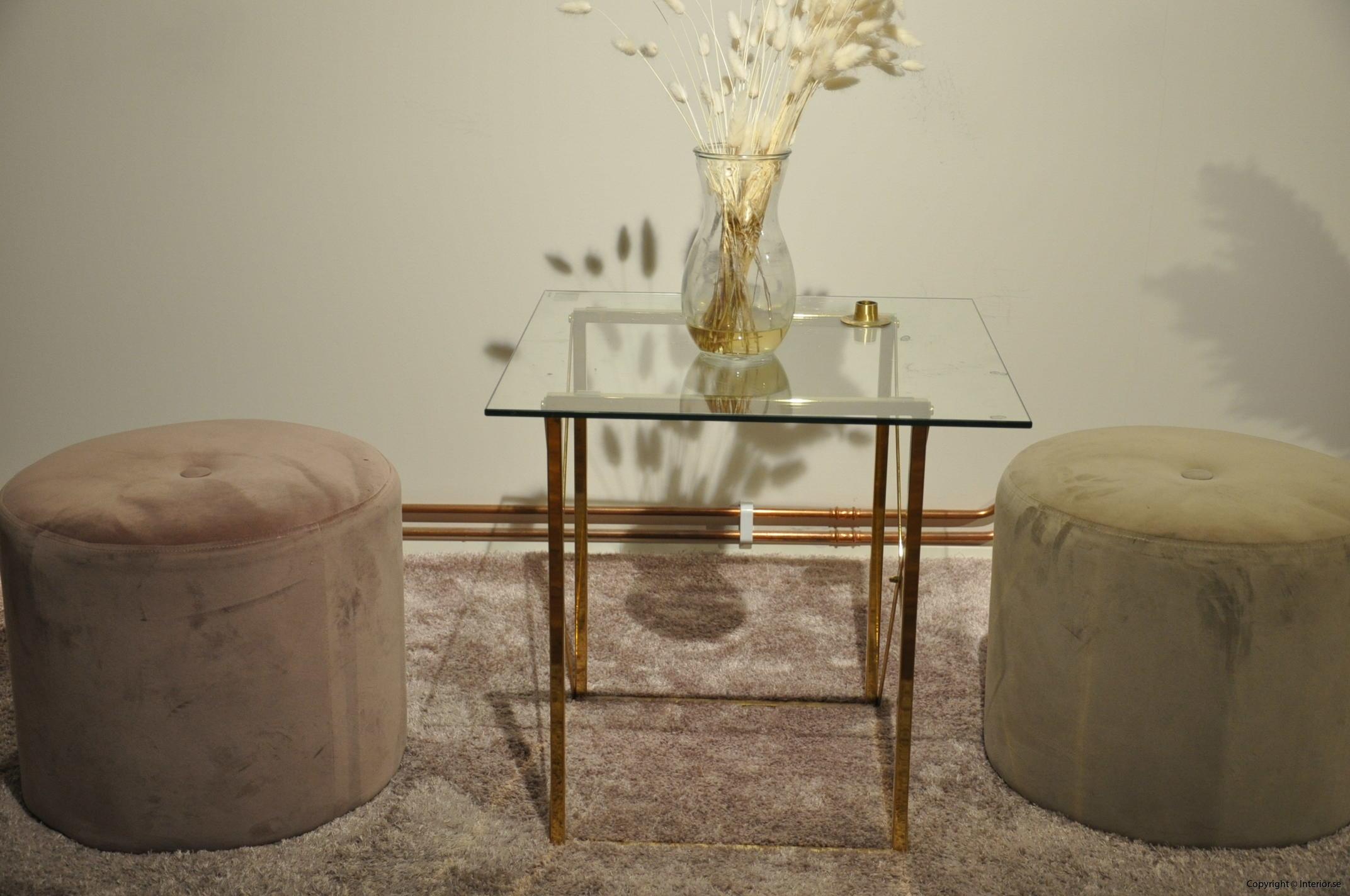 möbelgrupp designmöbler begagnade mässing glas (2)