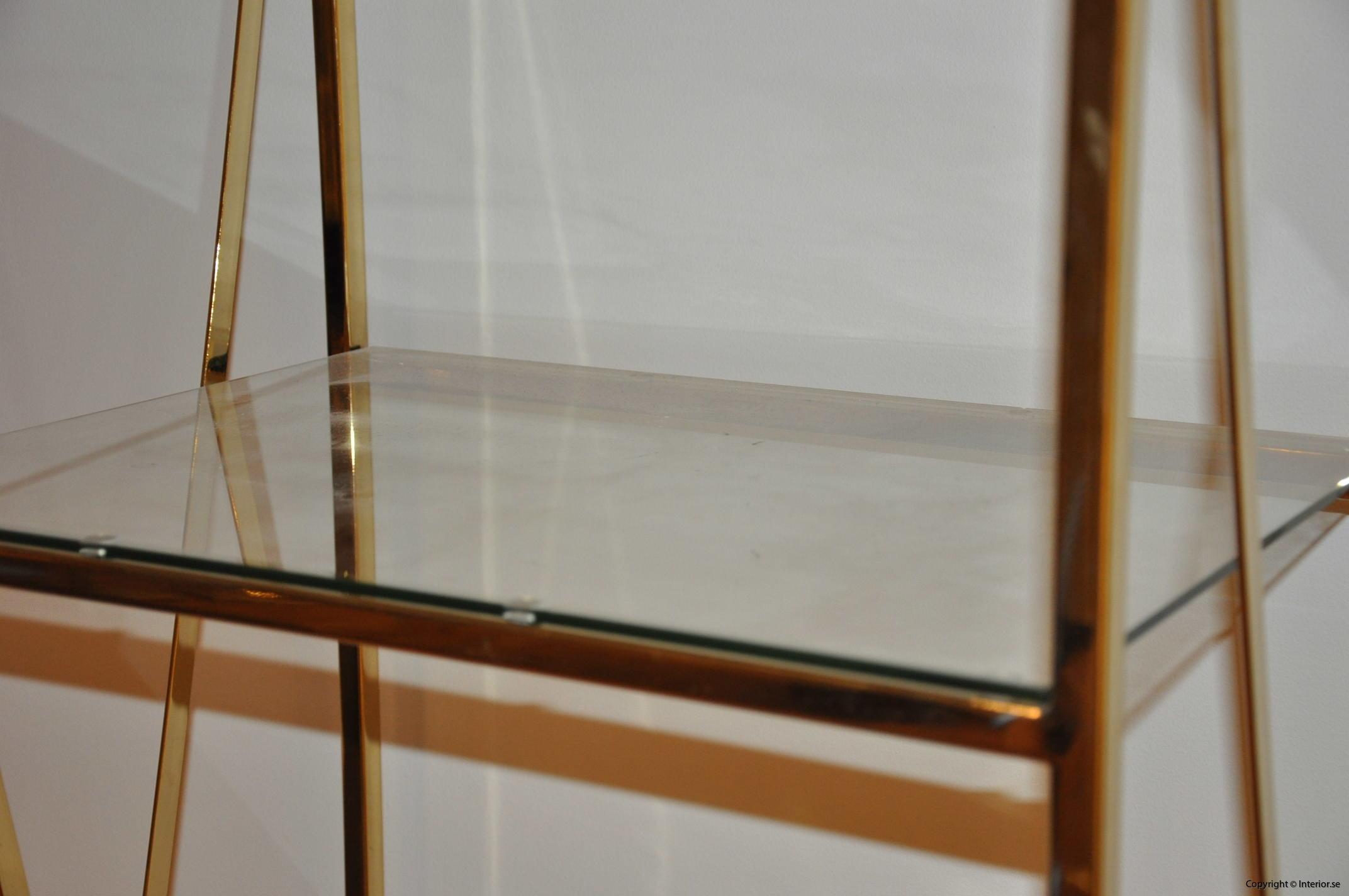 hylla glashylla mässing glas förvaring desingmöbler (5)