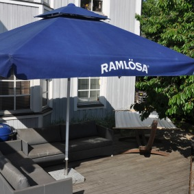 Hyr stora parasoll - 350 x 350 cm