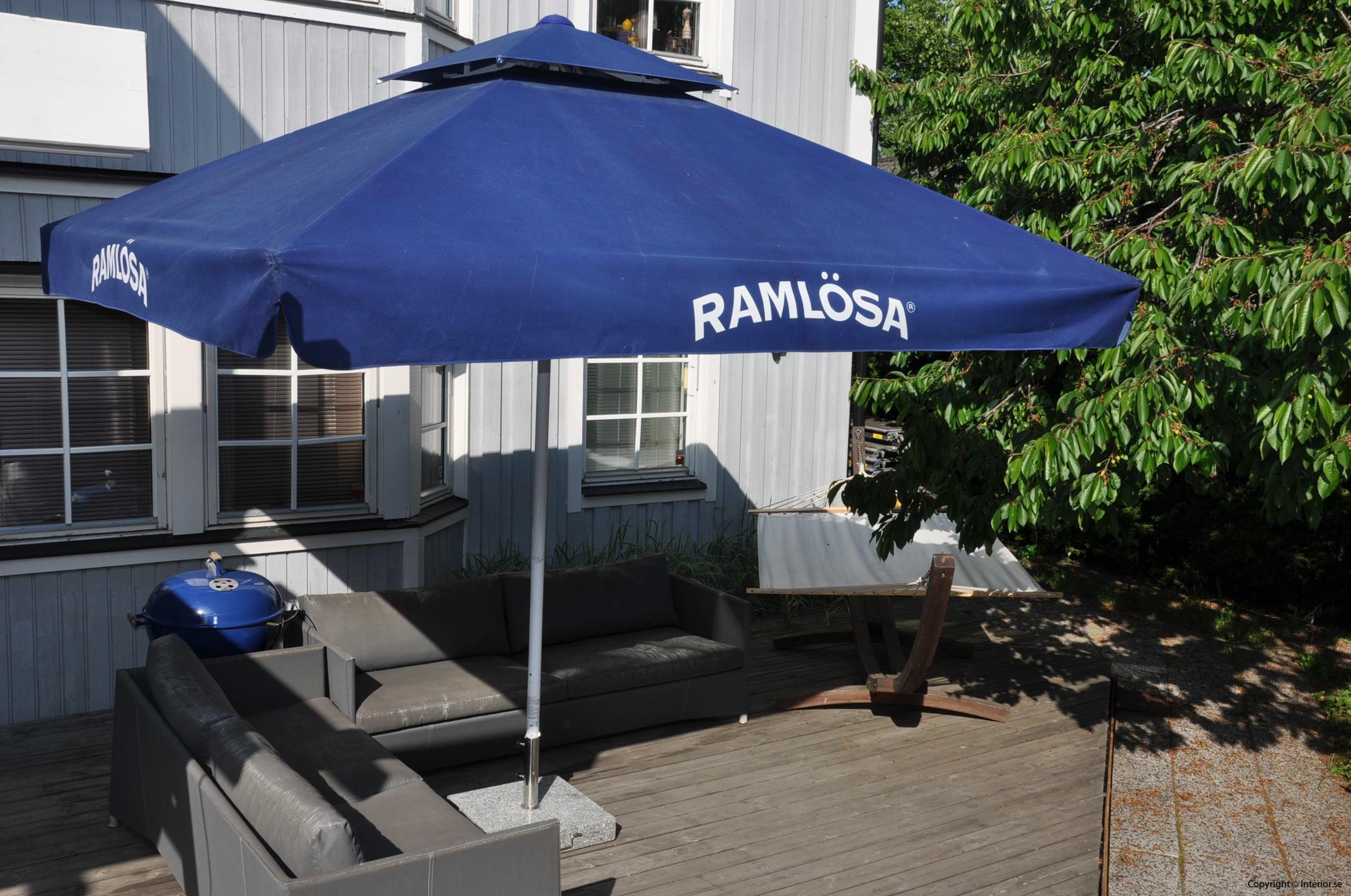 Hyr stora parasoll - 350 x 350 cm stockholm event (3)