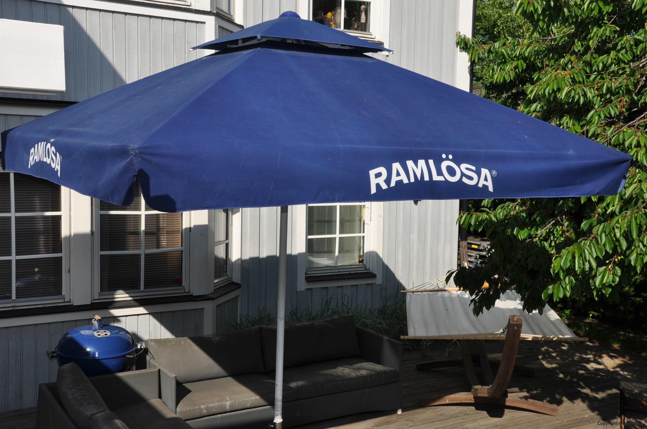 Hyr stora parasoll - 350 x 350 cm stockholm event (2)