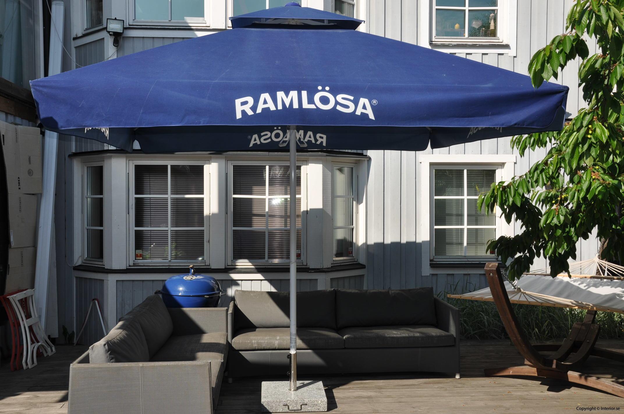 Hyr stora parasoll - 350 x 350 cm stockholm event