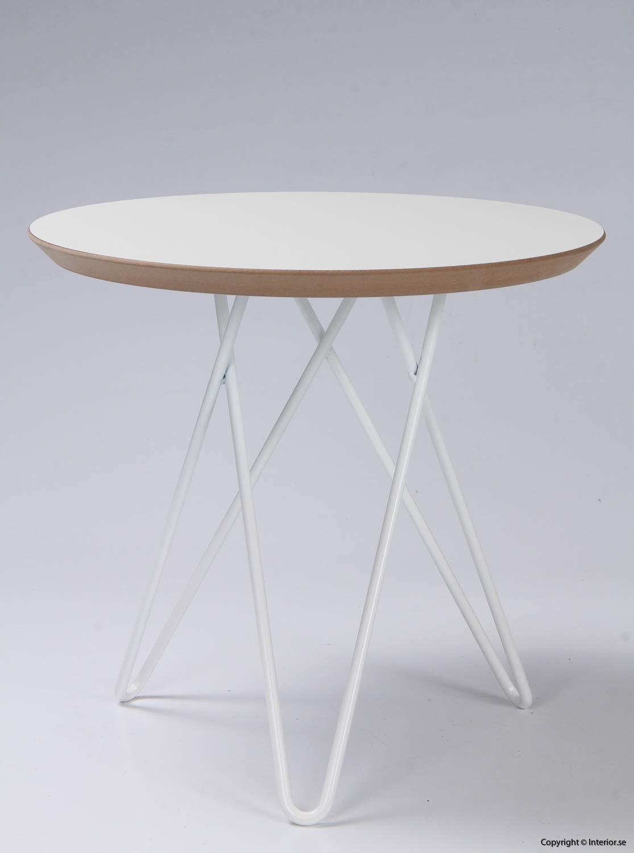 Soffbord sidobord - 45 cm i diameter begagnade designmöbler 4