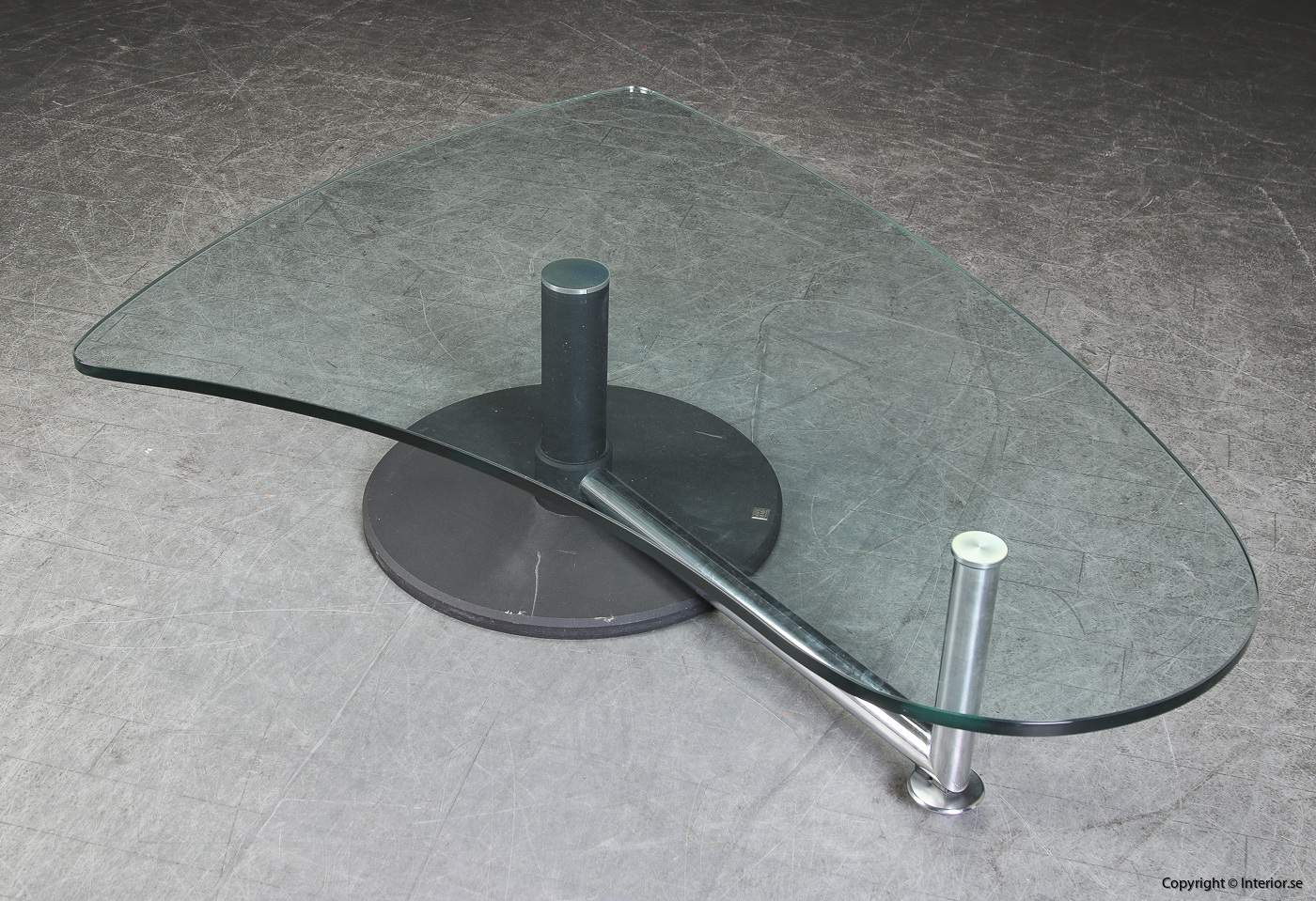 Soffbord med glasskiva coffee table Rolf Benz - 157 cm 2