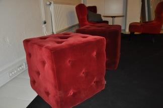 Sittpuff, Homeline Passion - Röd & Brun