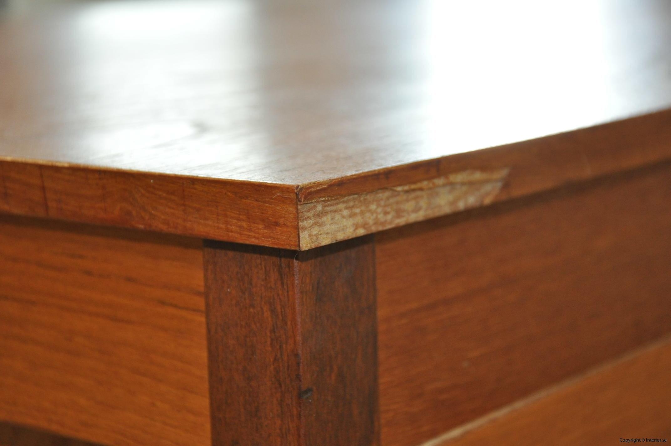 Vintage skrivbord Domino Møbler Denmark - 134 cm