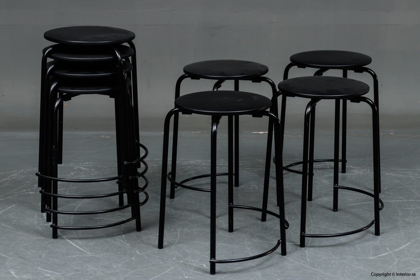 Stapelbara pallar, Holmris B8 Stools stackable stools