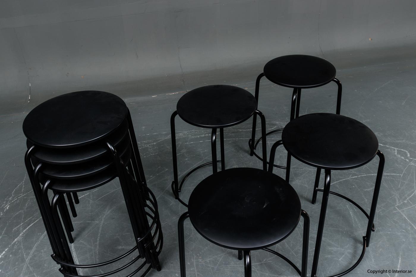 Stapelbara pallar, Holmris B8 Stools stackable stools 2