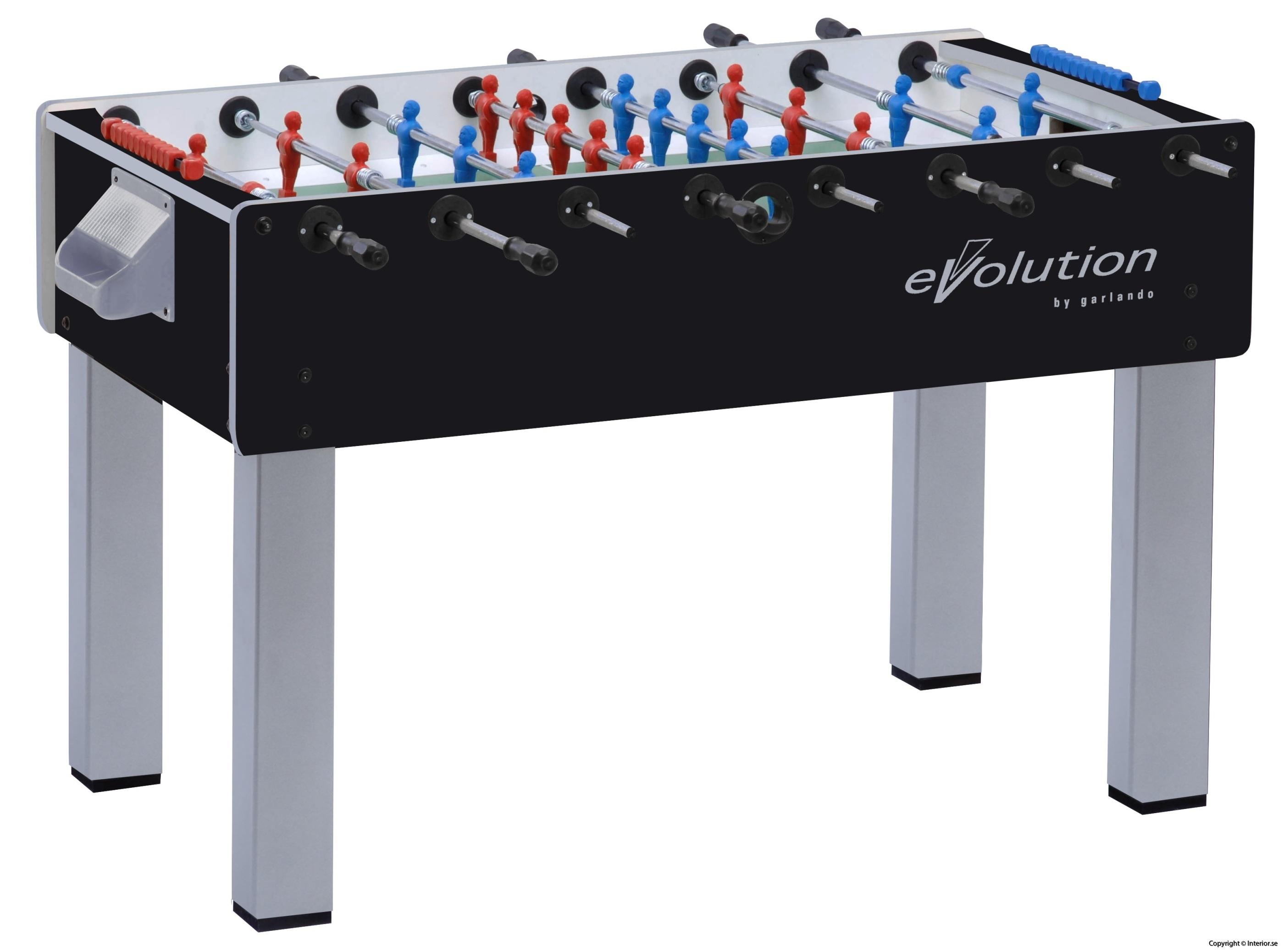hyra fotbollsspel stockholm Foosball spel Fotbollsspel, Evolution F-200 by Garlando Hyr fotbollsspel
