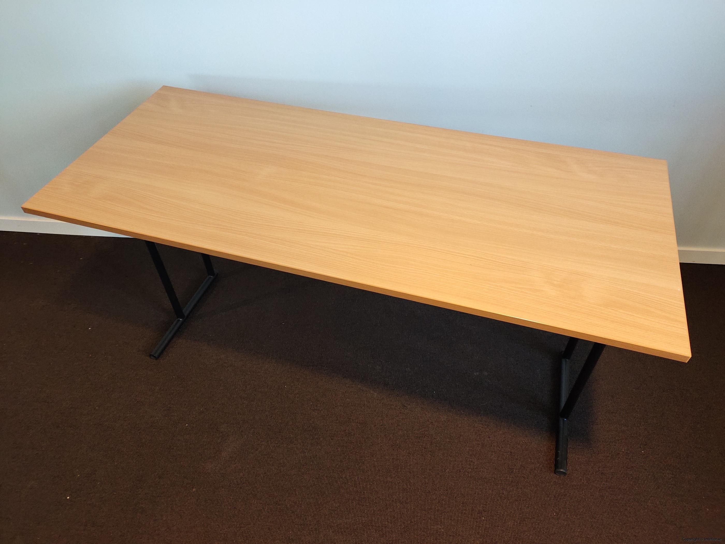 Fällbara bord  hopfällbara bord i bok - 140 x 60 cm (2)