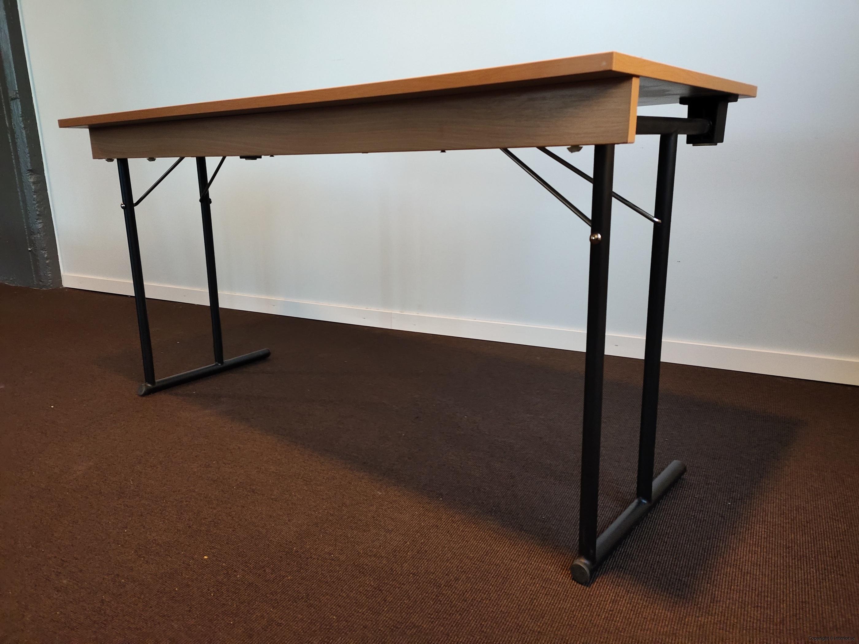 Fällbara bord  hopfällbara bord i bok - 140 x 60 cm (3)