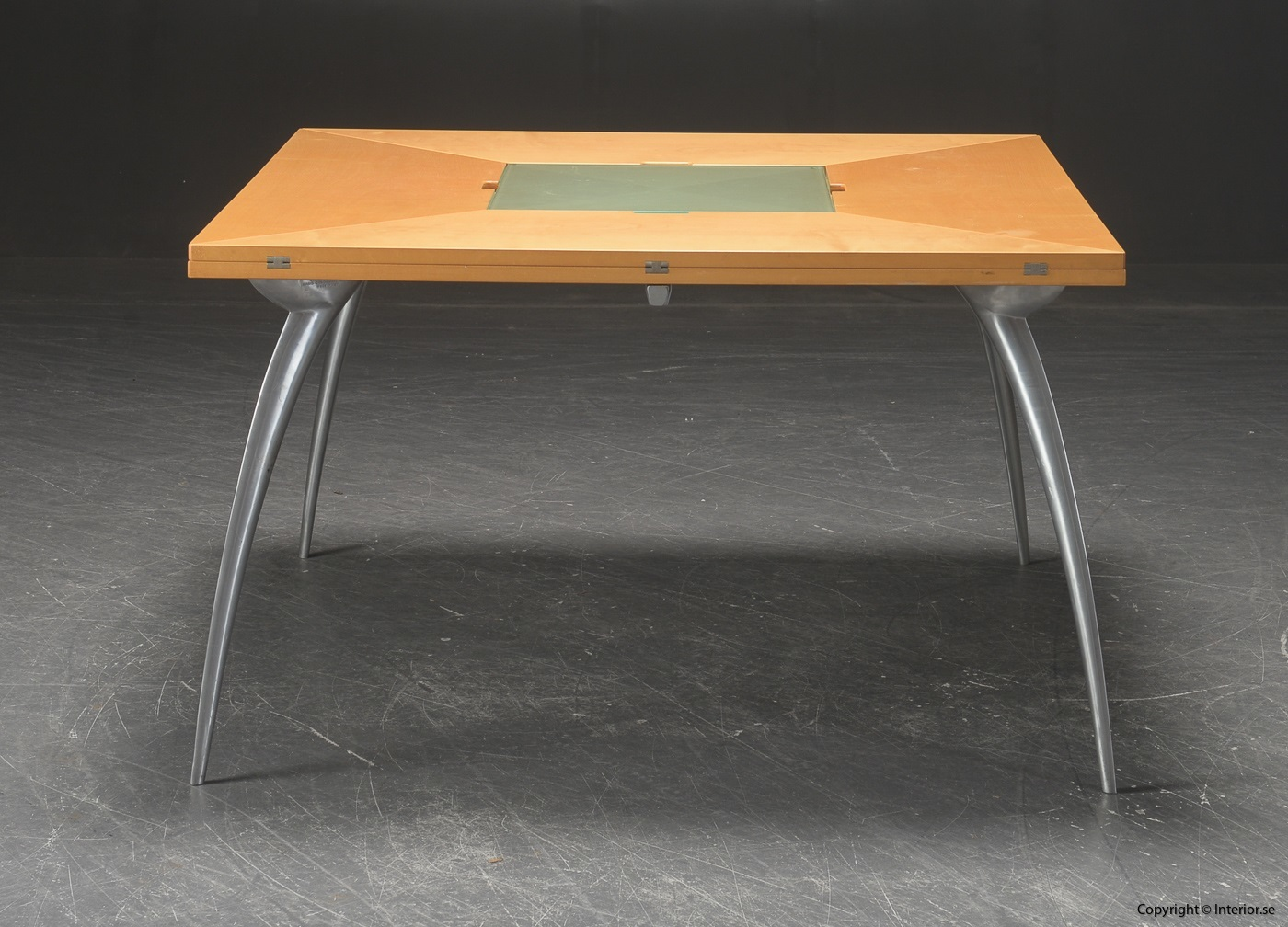 Table with foldable table tops, Tranekaer Cirkante + Magis Gran Tucano 4