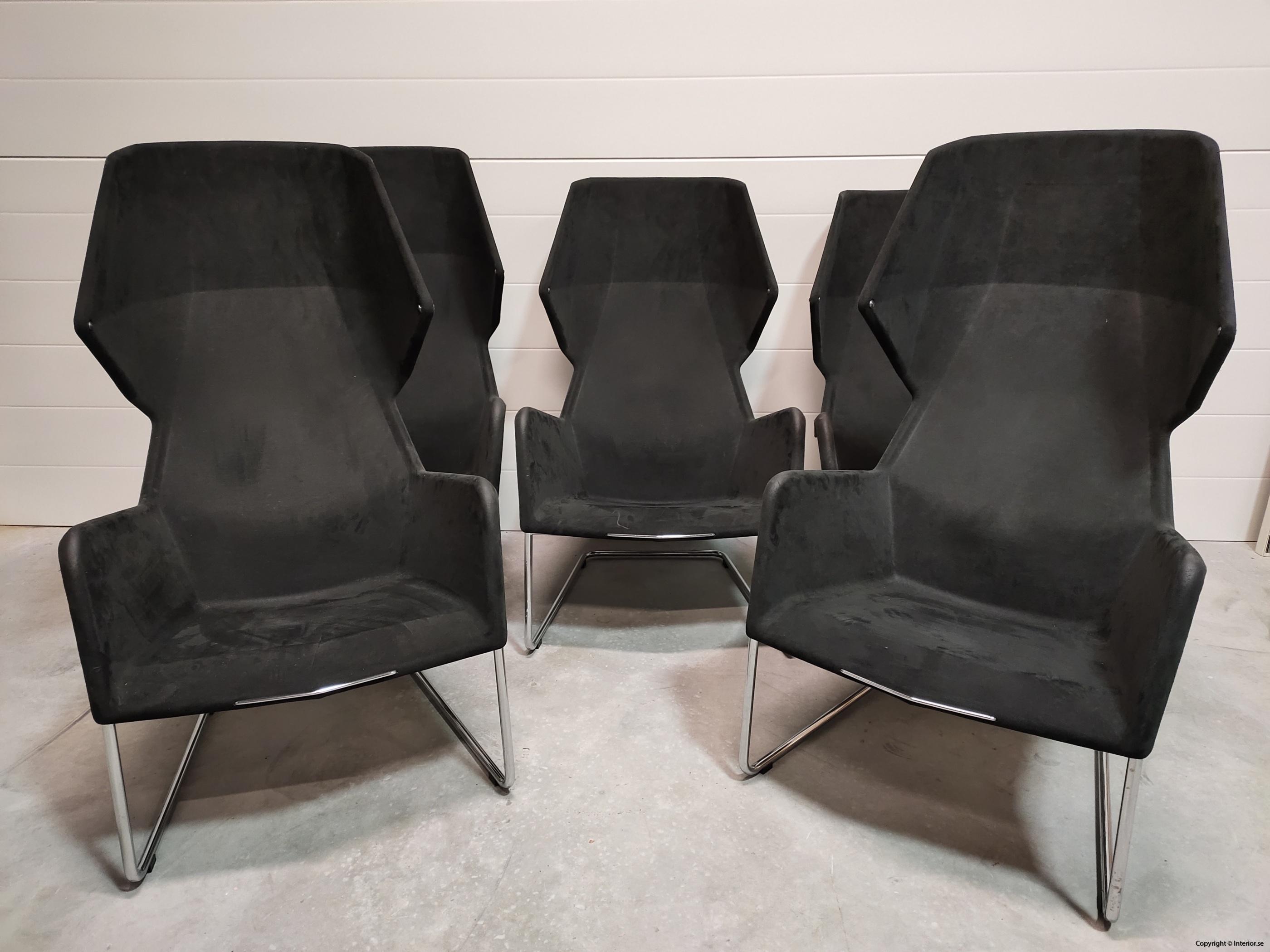 Lounge fåtöljer, Blå Station Peekaboo - Stefan Borselius