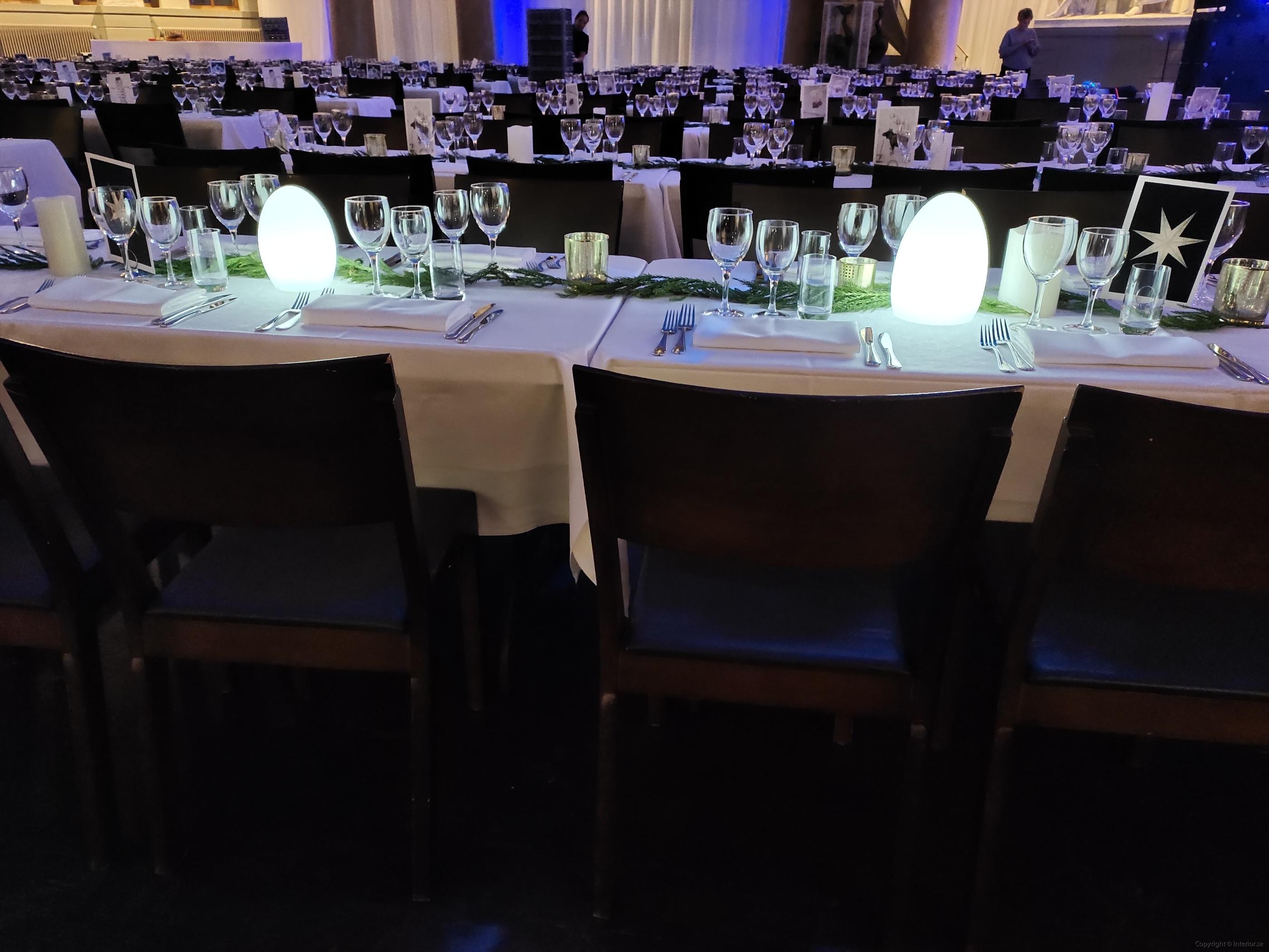 bordslampa LED hyra ljus värmeljus middags lampa event (3)