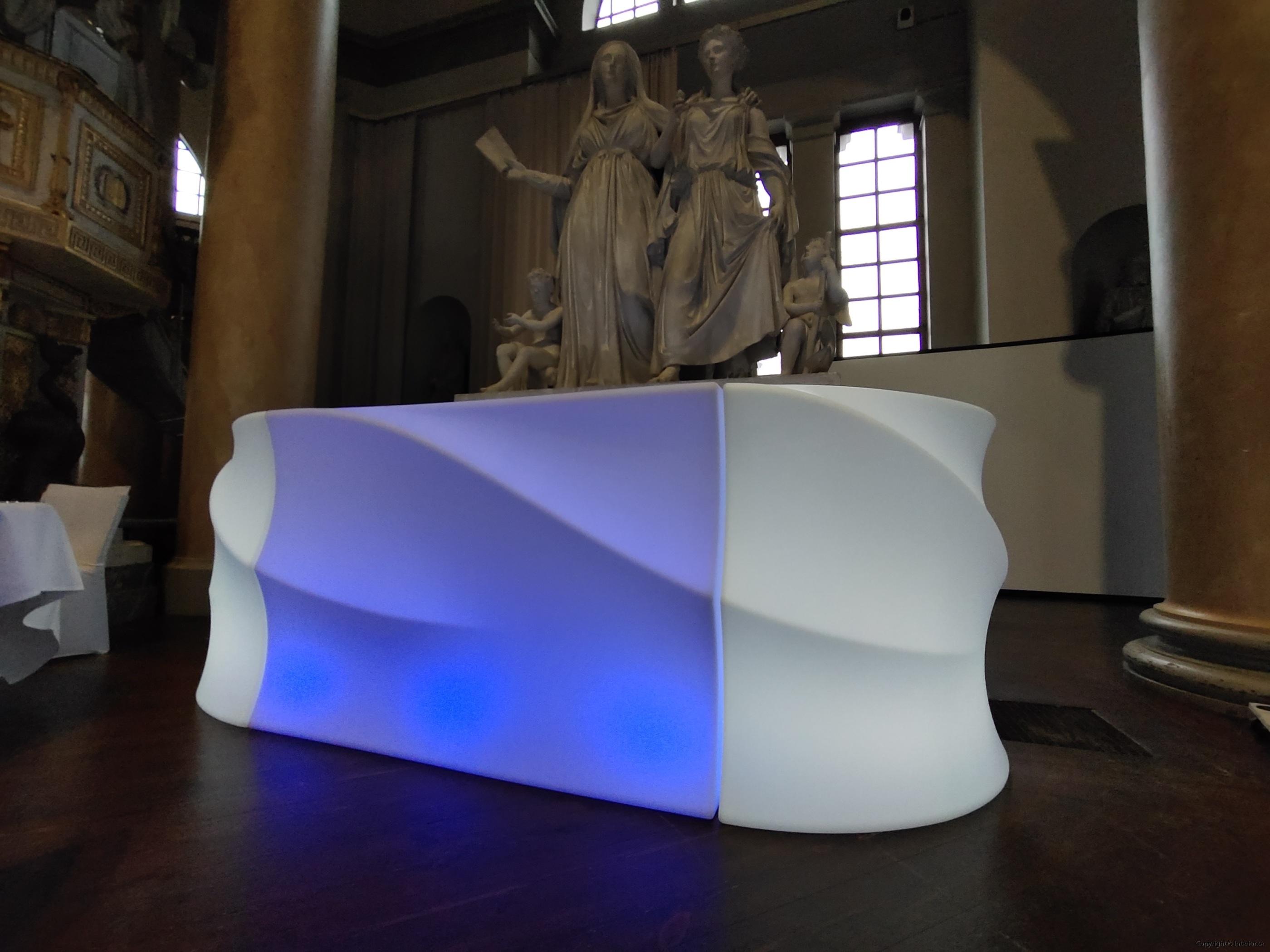 11 LED bardisk, New Wave 160-320 cm - Uppladdningsbar 2222