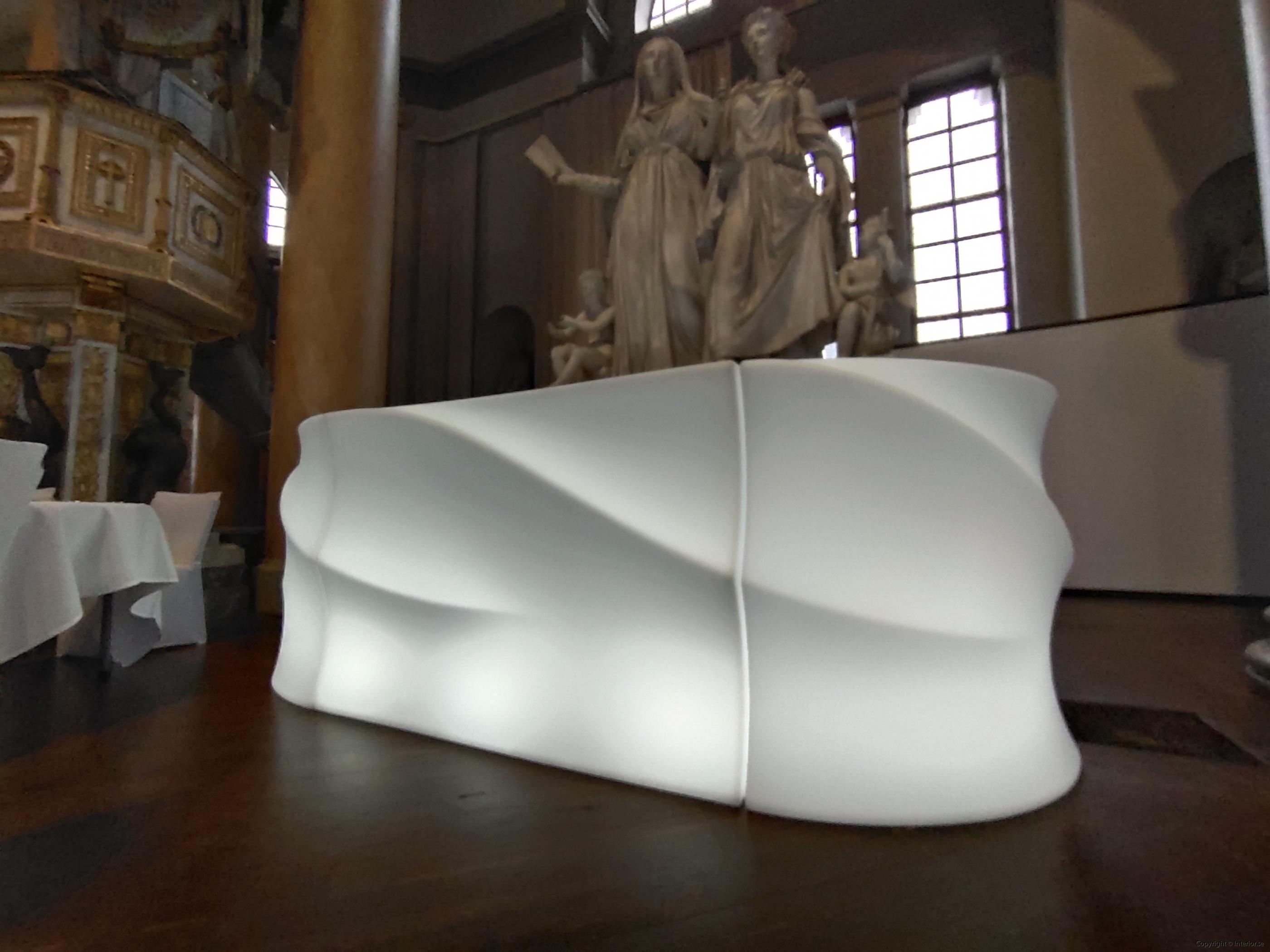 LED bardisk, New Wave 160-320 cm - Uppladdningsbar (3)