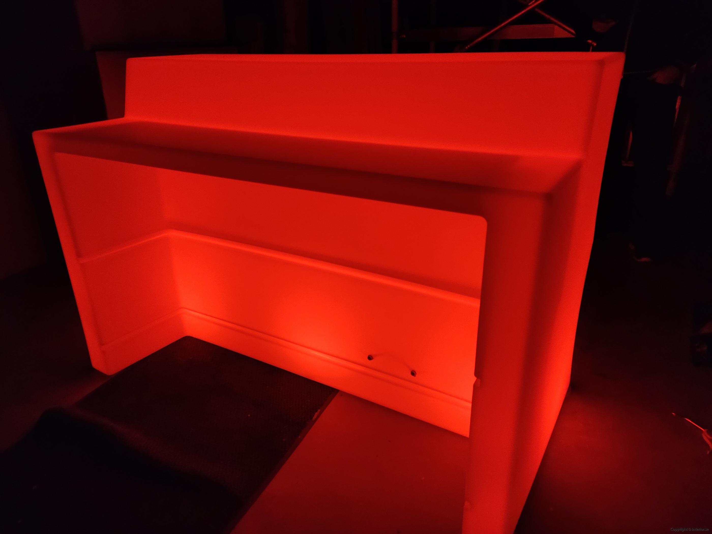Hyra LED bardisk stockholm, New Wave 320 cm - batteri