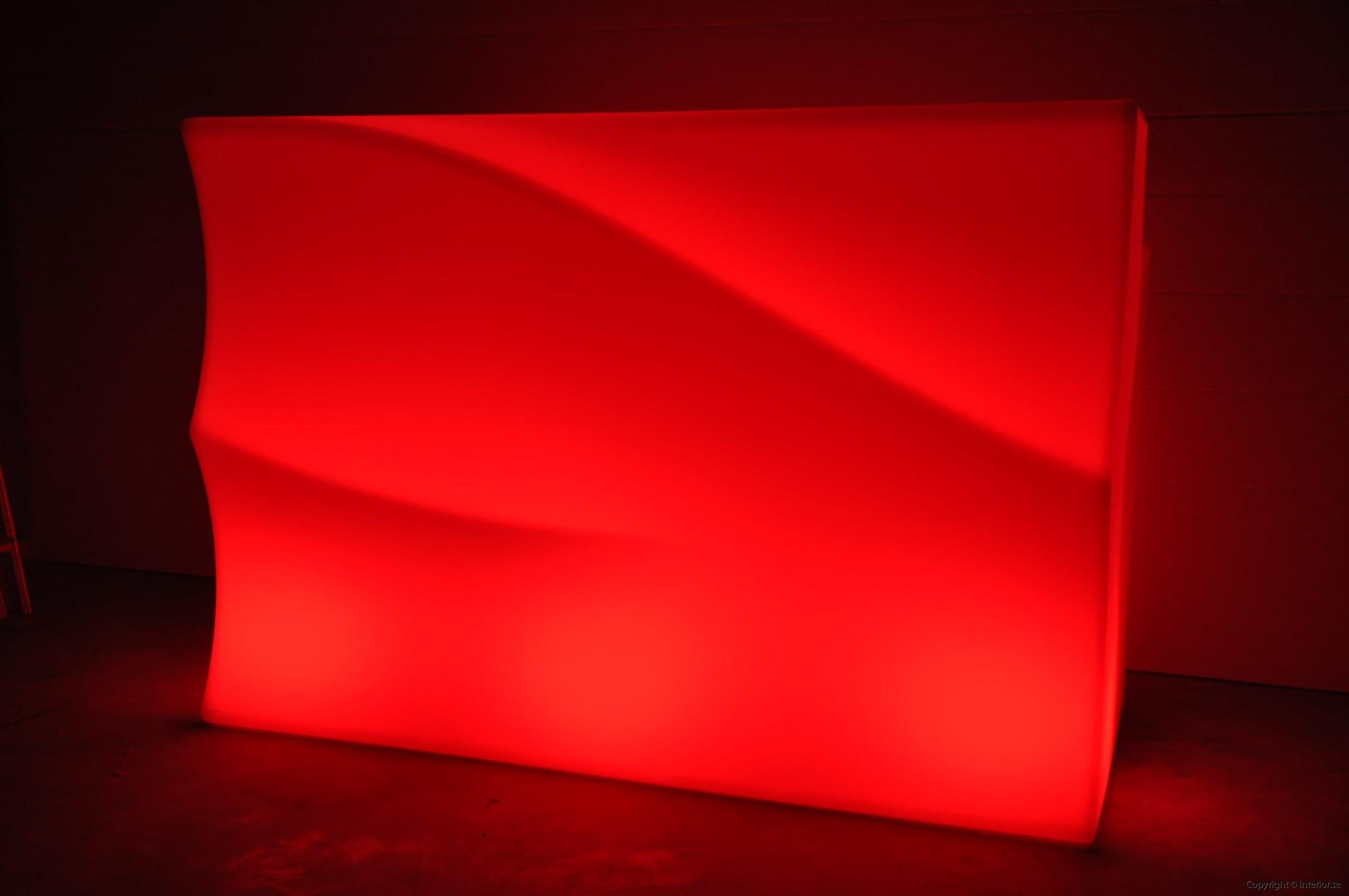 Hyra LED bardisk stockholm, New Wave 320 cm - batteri (2)