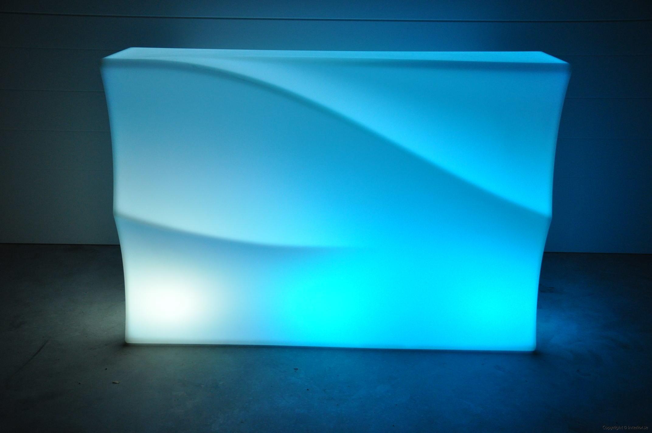 Hyra LED bardisk stockholm, New Wave 320 cm - batteri (3)