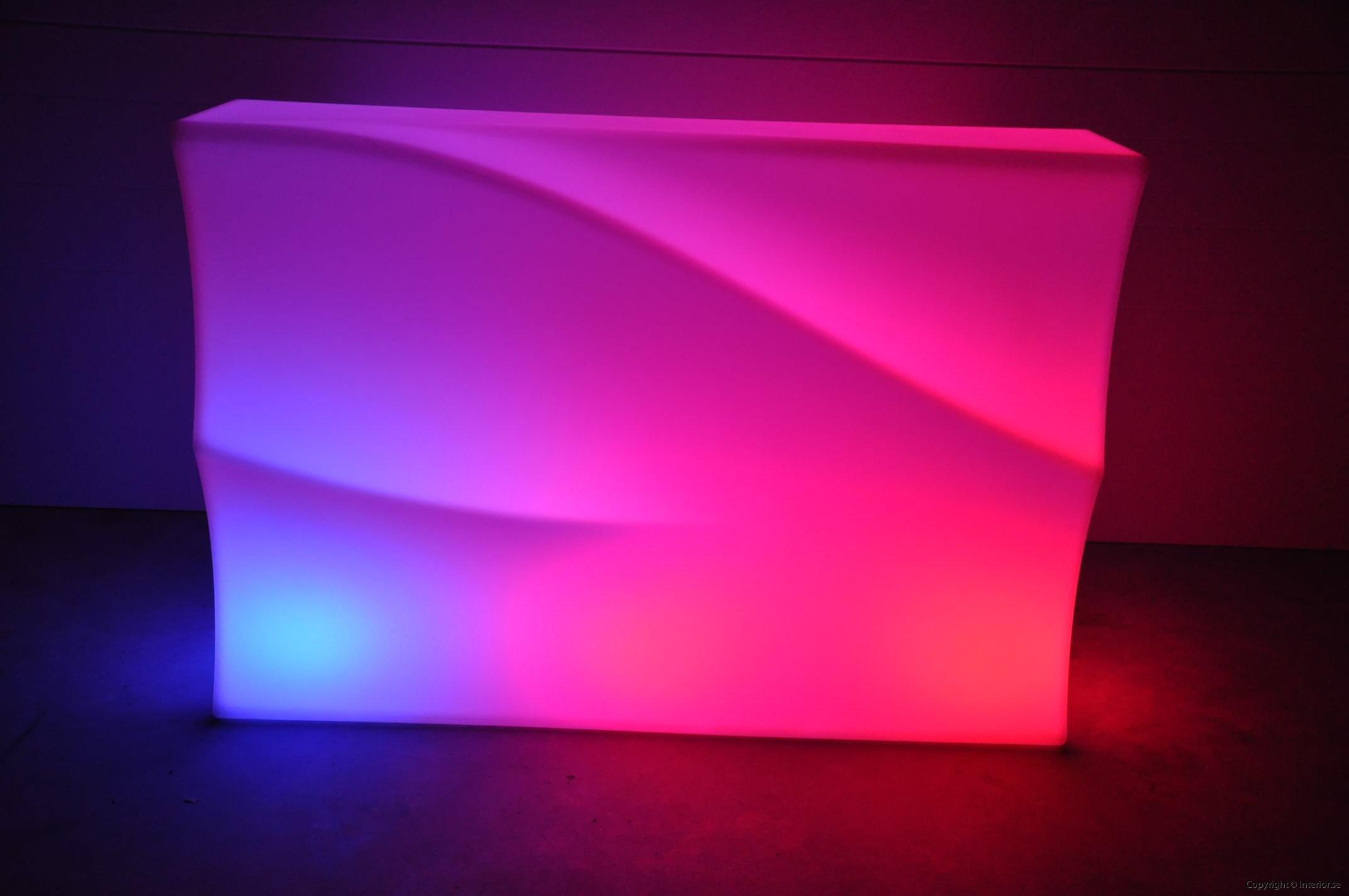Hyra LED bardisk stockholm, New Wave 320 cm - batteri (5)