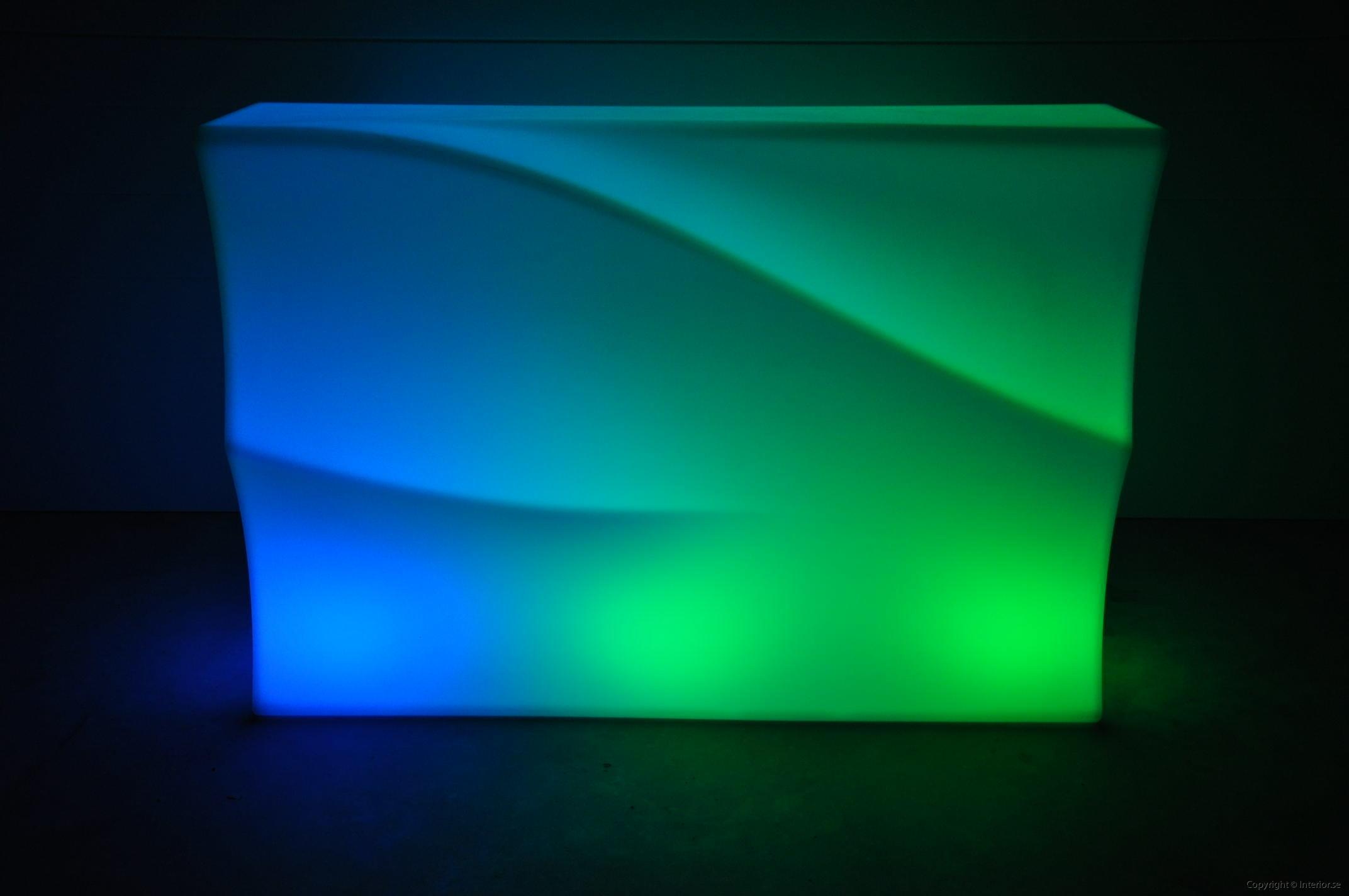 Hyra LED bardisk stockholm, New Wave 320 cm - batteri (6)
