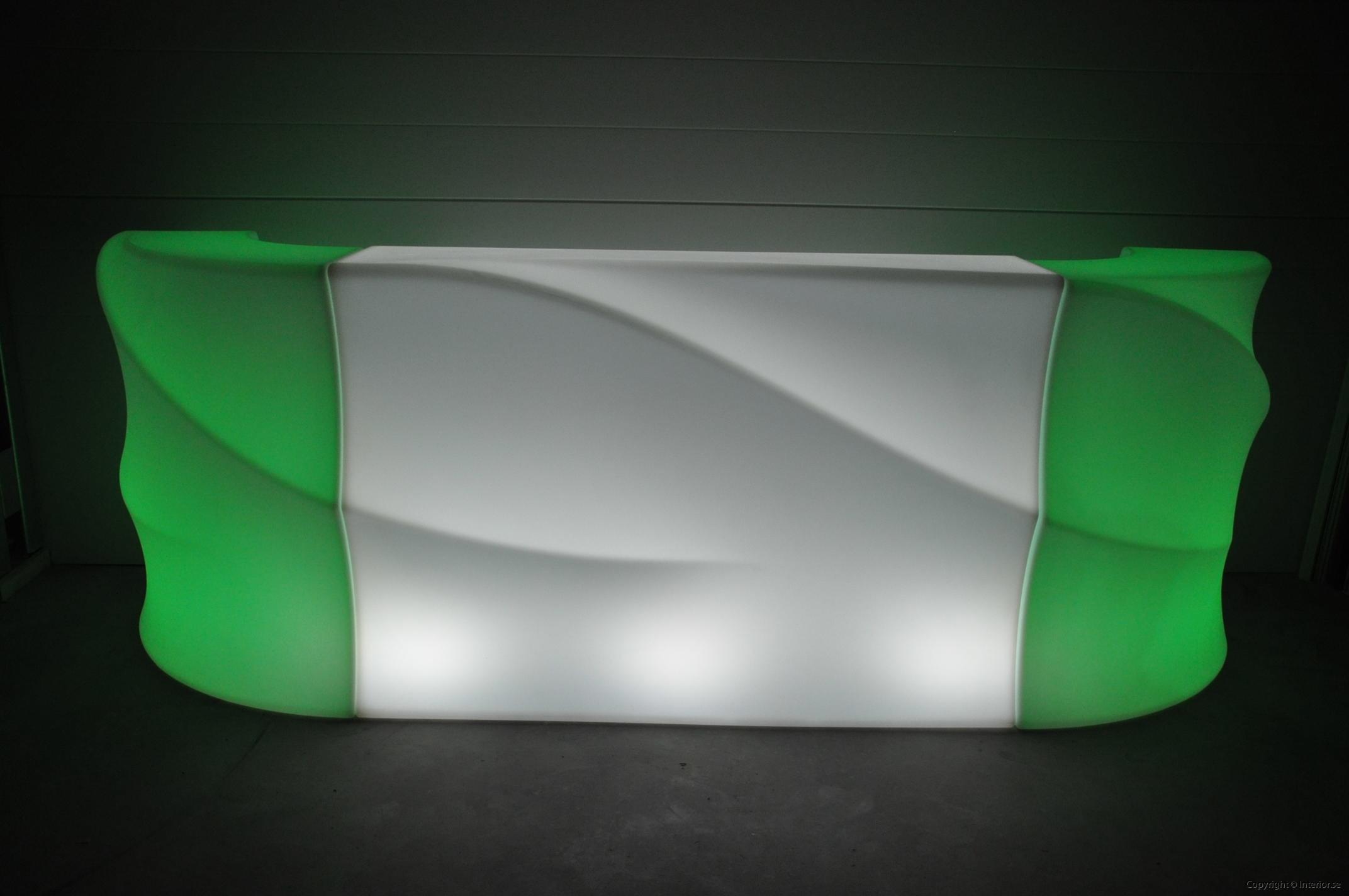 Hyra LED bardisk stockholm, New Wave 320 cm - batteri (10)