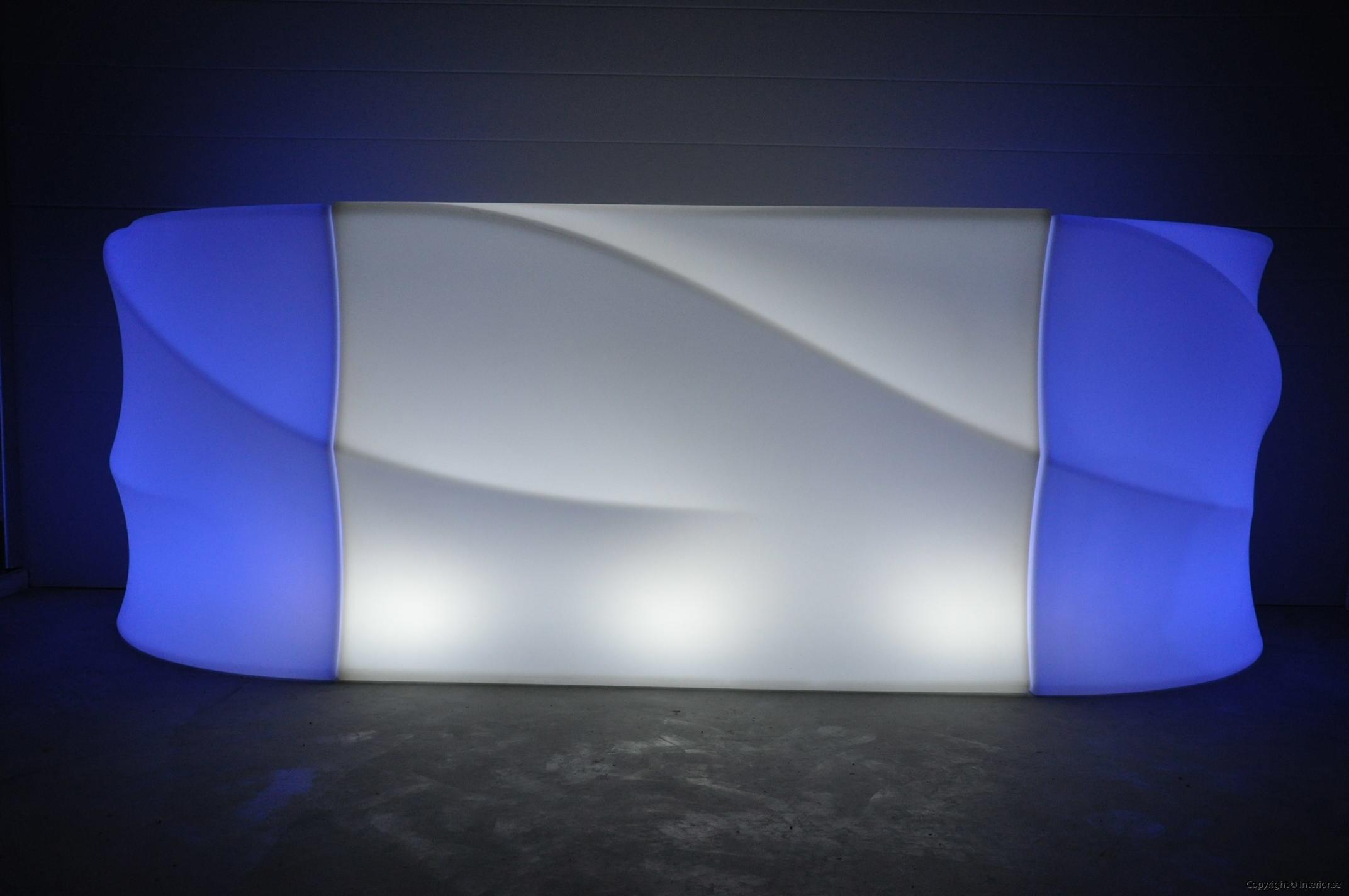 Hyra LED bardisk stockholm, New Wave 320 cm - batteri (11)