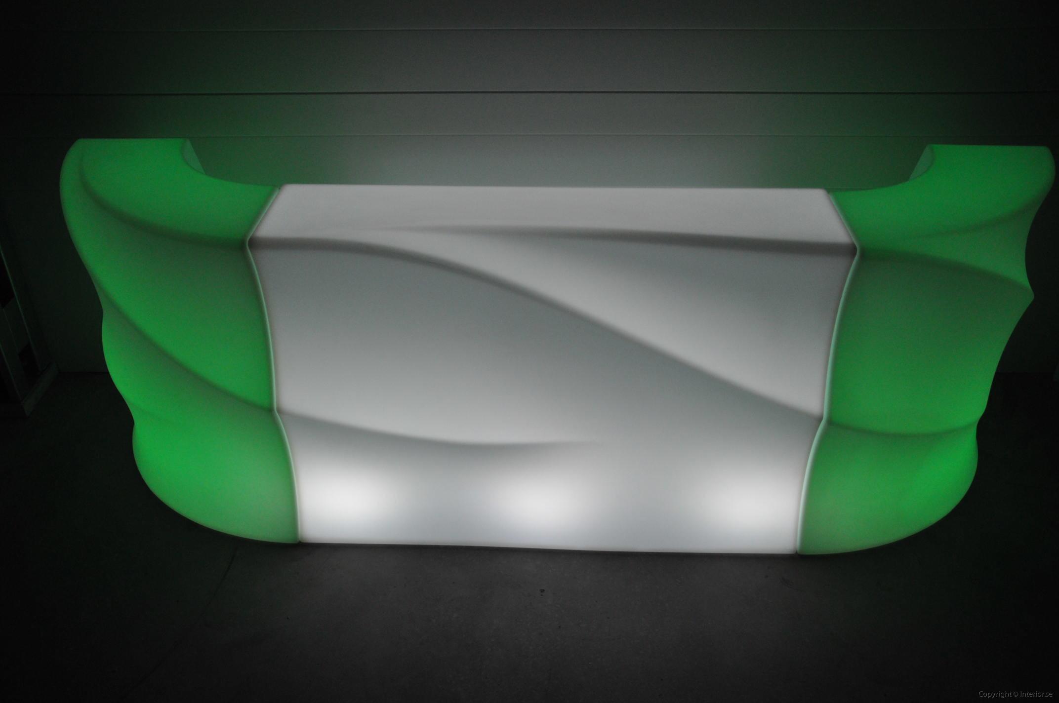 Hyra LED bardisk stockholm, New Wave 320 cm - batteri (13)